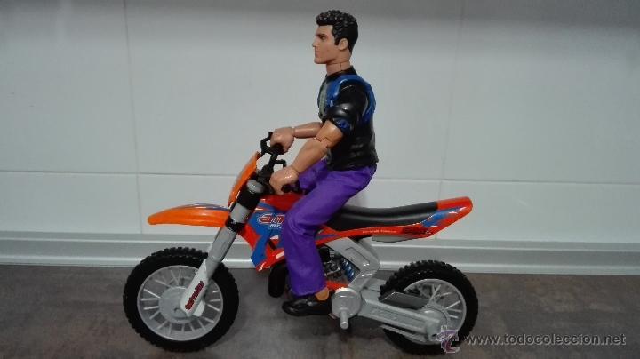 Action man: LOTE - ACTION MAN COMPUESTO POR (ACTION MAN + MOTO ACTION MAN DE TRIAL NARANJA). - Foto 2 - 53640767
