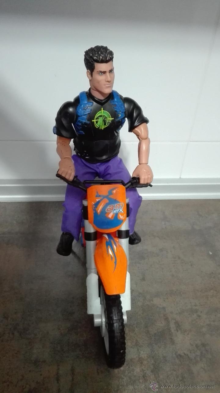 Action man: LOTE - ACTION MAN COMPUESTO POR (ACTION MAN + MOTO ACTION MAN DE TRIAL NARANJA). - Foto 5 - 53640767