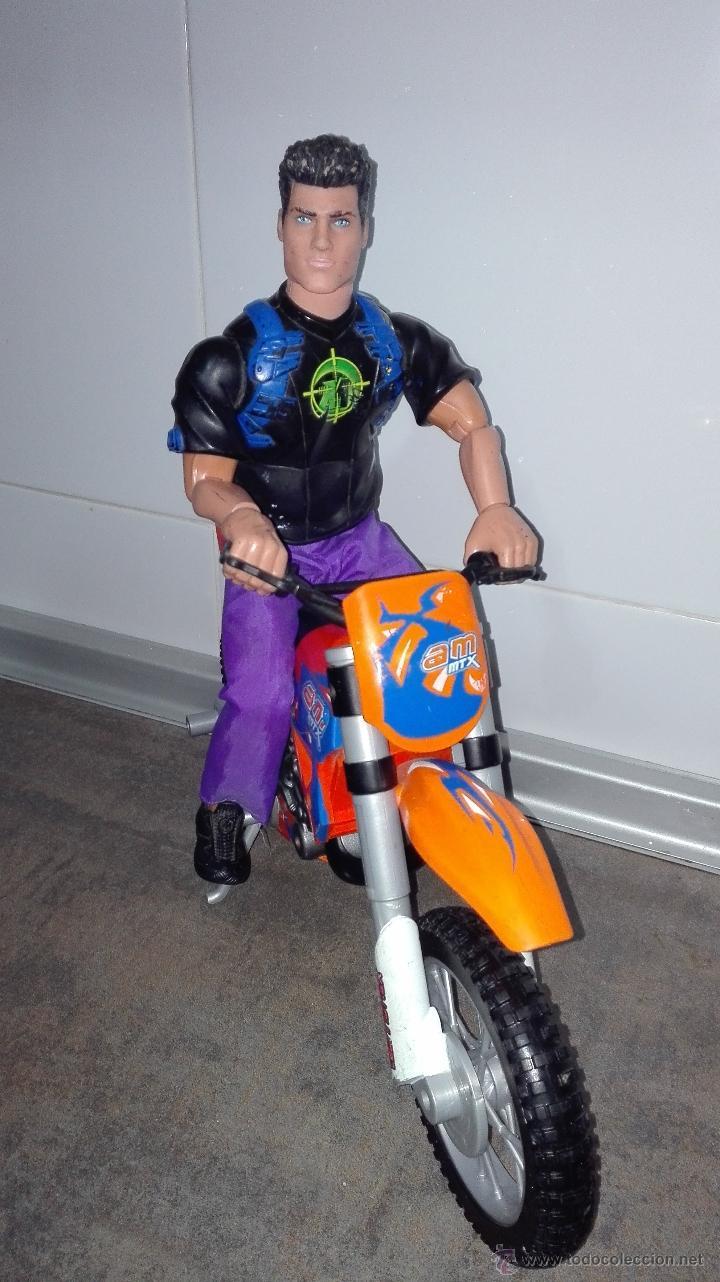 Action man: LOTE - ACTION MAN COMPUESTO POR (ACTION MAN + MOTO ACTION MAN DE TRIAL NARANJA). - Foto 8 - 53640767