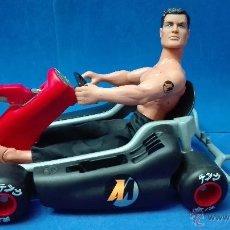 Action man: LOTE - ACTION MAN COMPUESTO POR (ACTION MAN + CAR GRAN TAMAÑO DE A. MAN). Lote 53640821