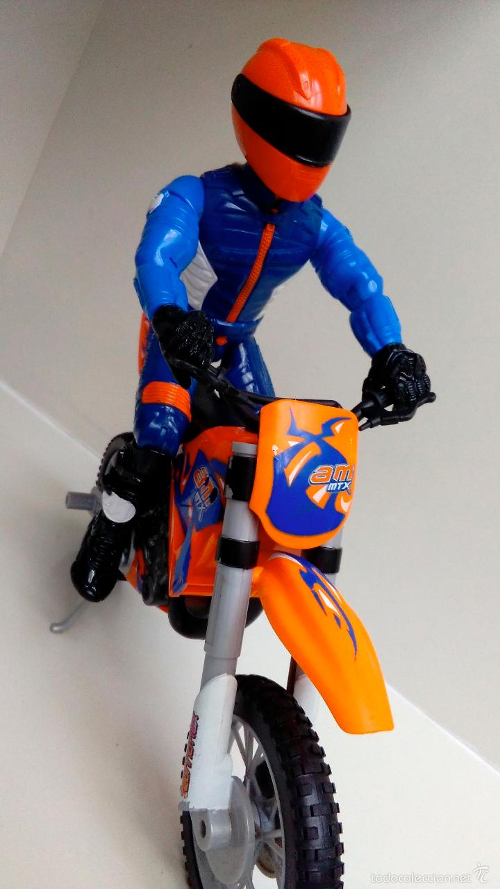 MOTO ACTION MAN EXTREME TERRAIN HASBRO 2003 + ACTION MAN HASBRO 2004 (Juguetes - Figuras de Acción - Action Man)