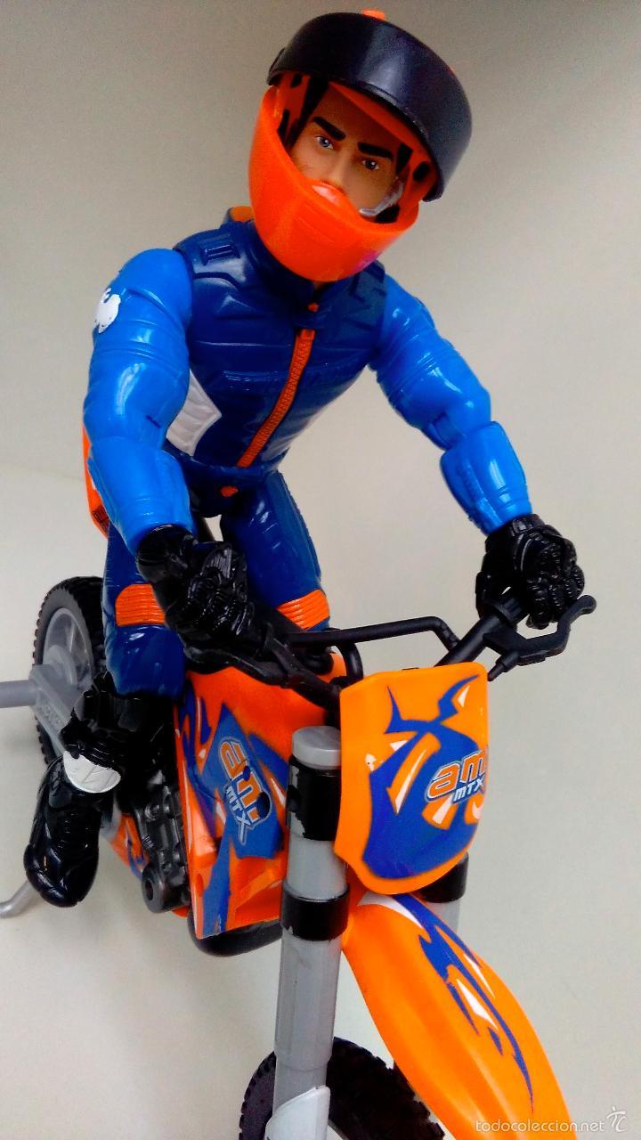 Action man: MOTO ACTION MAN EXTREME TERRAIN HASBRO 2003 + ACTION MAN HASBRO 2004 - Foto 2 - 57354018