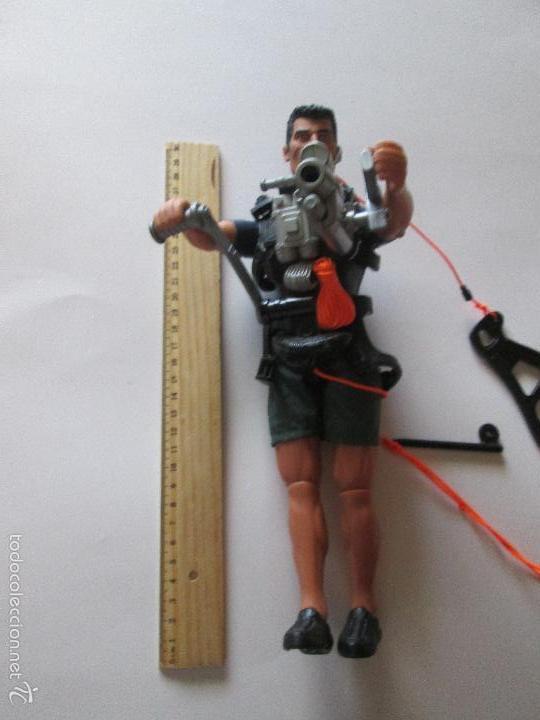 Action man: JUGUETE-FIGURA-ACTION MAN-GUERRERO-PERFECTO ESTADO-VER FOTOS. - Foto 7 - 57915034