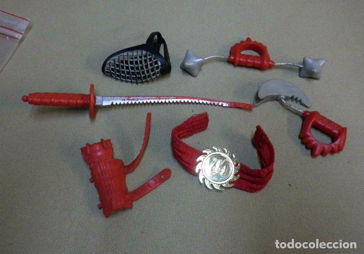 COMPLEMENTO FIGURAS DE ACCION, ACTION MAN, NINJA, HASBRO (Juguetes - Figuras de Acción - Action Man)