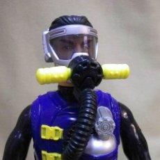 Action man: FIGURA DE ACCION, SCUBA EXTREME, SUBMARINISTA, ACTION MAN, HASBRO 1998. Lote 66081286