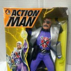 Action man: ACTION MAN DOCTOR X. NUEVO EN CAJA. ESCUDO LANZADOR. MANO ROBOTIZADA. HASBRO.1993. MUY DIFÍCIL. DR X. Lote 75938817