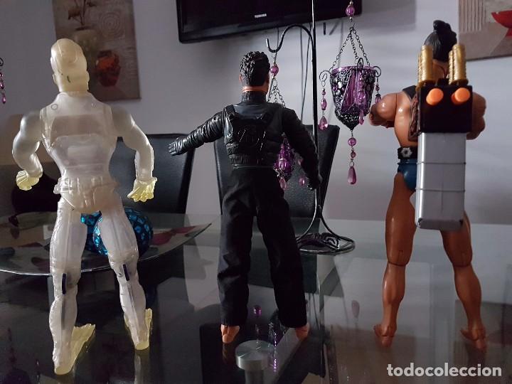 Action man: Acción man tres muñecos figuras hasbro - Foto 2 - 76677219