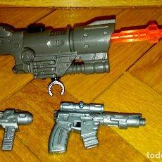 Action man: ARMAS DE METAL PESADO Y LANZAMISILES QUE FUNCIONA AL PULSAR UN BOTÓN, TODO ORIGINAL DE ACTION MAN. Lote 77594129