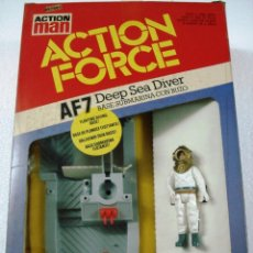 Action man: ACTION MAN - ACTION FORCE: AF7 DEEP SEA DIVER. NUEVO EN PERFECTO ESTADO.. Lote 81675240