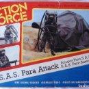 Action man: ACTION MAN - ACTION FORCE : S.A.S PARA ATTACK.AÑOS 80. NUEVO PERO LE. FALTA EL ARNÉS. Lote 83034180