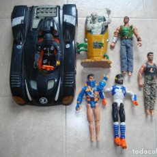 Action man: LOTE ACTION MAN COCHE + 6 MUÑECOS. Lote 83788780