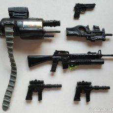 Action man: VINTAGE LOTE ARMAS Y COMPLEMENTOS DE ACTION MAN HASBRO . Lote 86707652