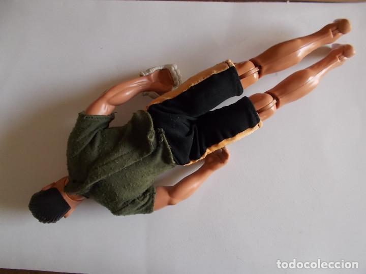 Action man: MUÑECO FIGURA MANIQUÍ ACTION MAN HASBRO 1999 CON CAMISETA PANTALON Y UN GUANTE DE BOXEO. PTOY - Foto 2 - 90772005