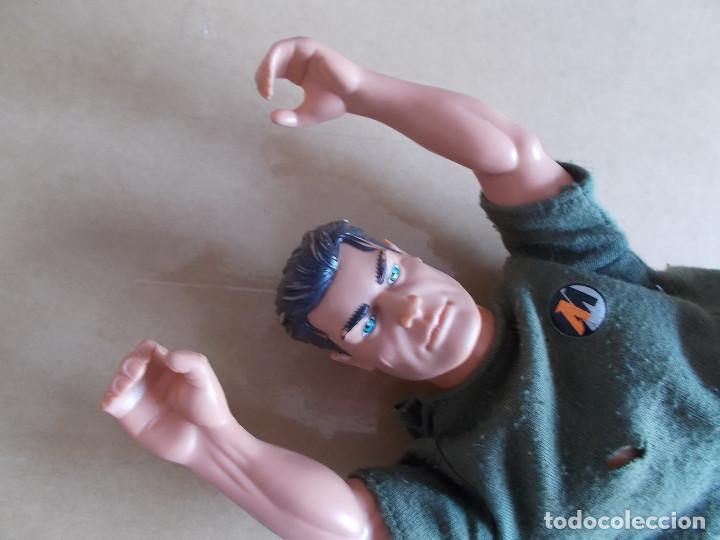 Action man: MUÑECO FIGURA MANIQUÍ ACTION MAN HASBRO 1999 CON CAMISETA PANTALON Y UN GUANTE DE BOXEO. PTOY - Foto 5 - 90772005