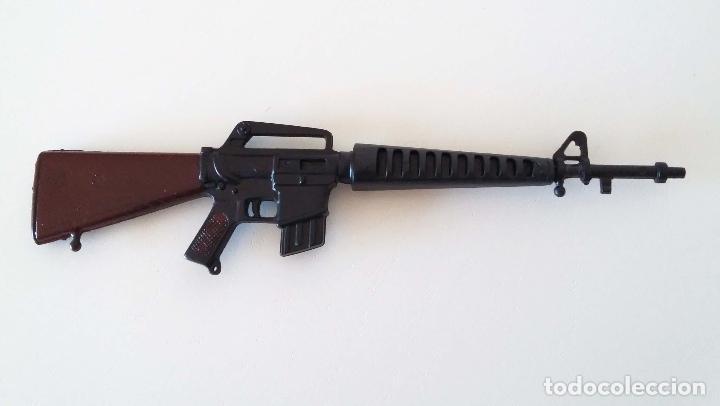 FUSIL COLT M16 - ACTION MAN - ORIGINAL AÑOS 70 (Juguetes - Figuras de Acción - Action Man)