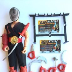 Action man: ACTION MAN HASBRO POWER ARM NINJA ( KUNG-FU) 1996 IMPECABLE. Lote 93195250