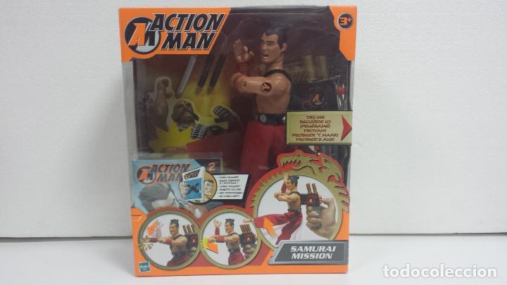 ACTION MAN SAMURAI MISSION-MB HASBRO 2002-PRECINTADO (Juguetes - Figuras de Acción - Action Man)