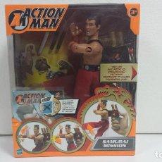 Action man: ACTION MAN SAMURAI MISSION-MB HASBRO 2002-PRECINTADO. Lote 93886710