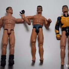 Action man: 3 MUÑECOS ACTIONMAN. Lote 94060435