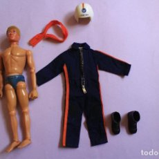 Action man: ACTION MAN PILOTO HELICÓPTERO CON MOVIMIENTO EN LOS OJOS.. Lote 95998587