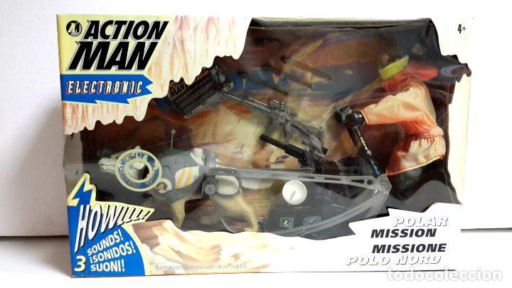 ACTION MAN MISSION POLAR HASBRO 1997-PRECINTADO-FUNCIONA (Juguetes - Figuras de Acción - Action Man)