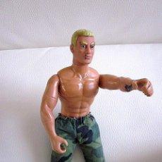 Action man: ACTION MAN 1992 HASBRO PAWTUCKET 02862. C-022B CEJAS Y PELO RUBIO. Lote 96836811