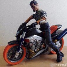 Action man: MOTORISTA Y MOTO DE ACTION MAN. Lote 97329107