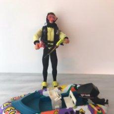 Action man: MUÑECO ACTION MAN CON LANCHA A PILAS. Lote 99214691