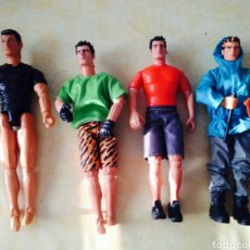 Action man: LOTE 4 MUÑECOS ACTION MAN. Lote 100338768