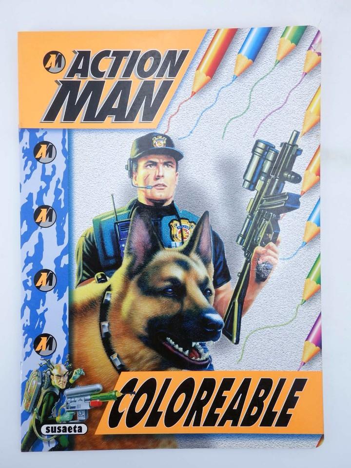 Action man: ACTION MAN COLOREABLE. LOTE DE 4 COLECCION COMPLETA Susaeta, 1998. OFRT - Foto 2 - 105456592