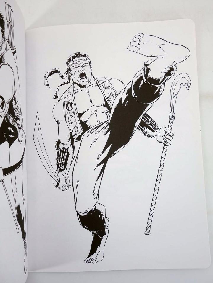 Action man: ACTION MAN COLOREABLE. LOTE DE 4 COLECCION COMPLETA Susaeta, 1998. OFRT - Foto 5 - 105456592
