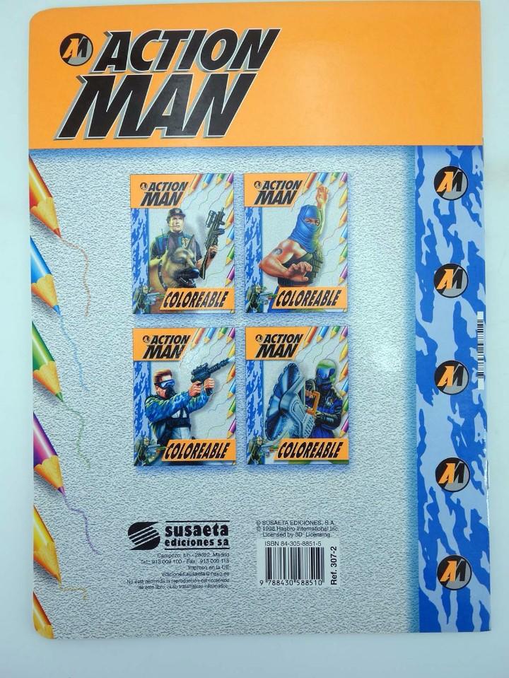 Action man: ACTION MAN COLOREABLE. LOTE DE 4 COLECCION COMPLETA Susaeta, 1998. OFRT - Foto 7 - 105456592