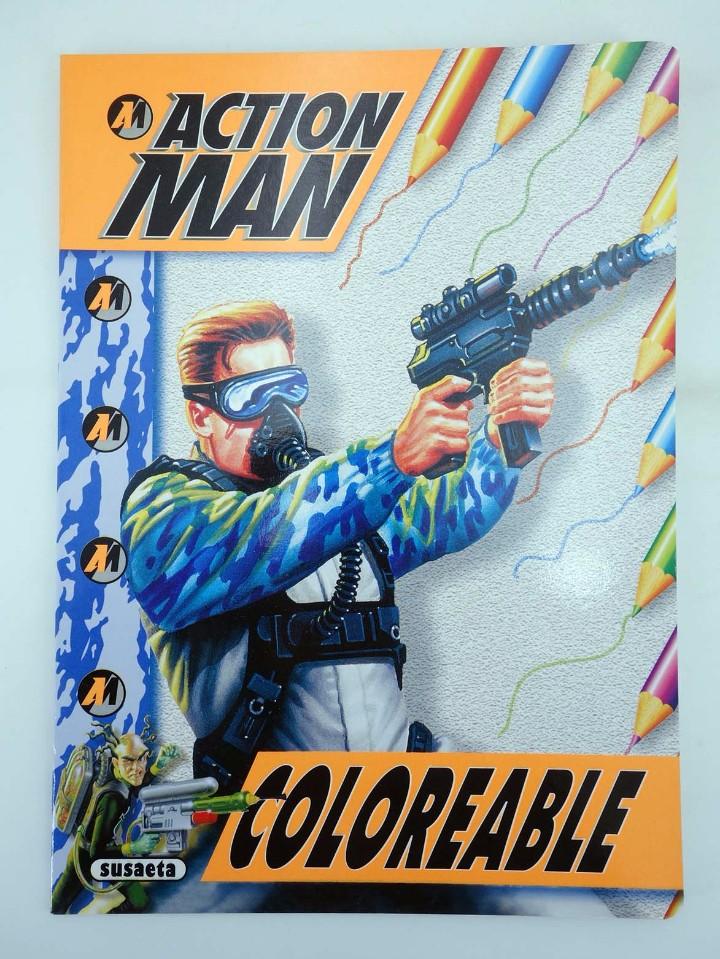 Action man: ACTION MAN COLOREABLE. LOTE DE 4 COLECCION COMPLETA Susaeta, 1998. OFRT - Foto 10 - 105456592
