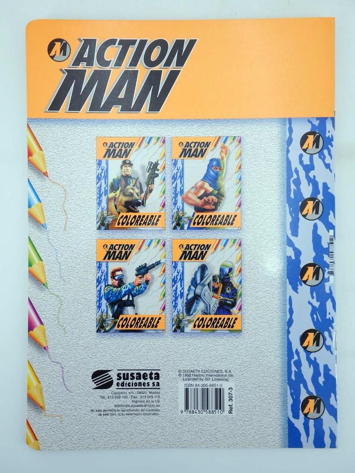 Action man: ACTION MAN COLOREABLE. LOTE DE 4 COLECCION COMPLETA Susaeta, 1998. OFRT - Foto 11 - 105456592