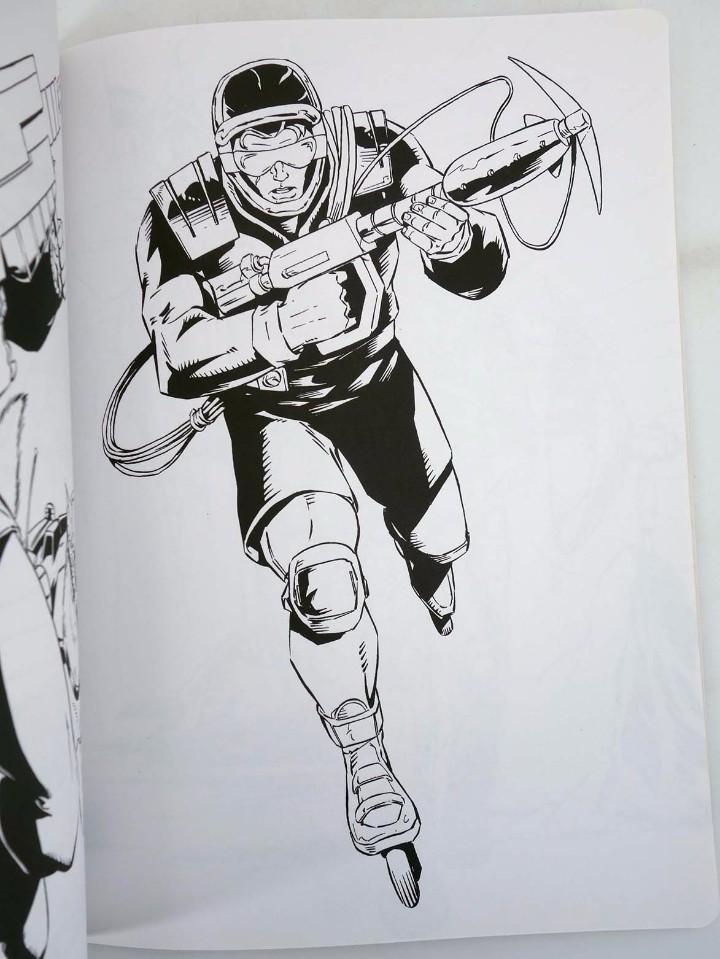 Action man: ACTION MAN COLOREABLE. LOTE DE 4 COLECCION COMPLETA Susaeta, 1998. OFRT - Foto 12 - 105456592