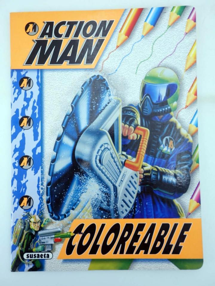 Action man: ACTION MAN COLOREABLE. LOTE DE 4 COLECCION COMPLETA Susaeta, 1998. OFRT - Foto 14 - 105456592
