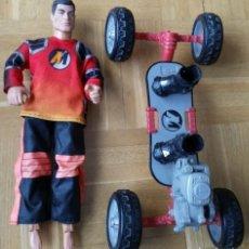Action man: ACTION MAN - SKATER - PATINADOR - MONOPATIN - SKATE 4 RUEDAS - HASBRO. Lote 106714231