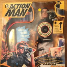 Action man: ACTION MAN CAMERA MISSION, HASBRO 98,SIN ABRIR. Lote 107051587