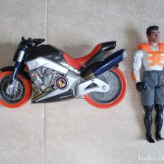 Action man: MOTO Y MUÑECO ACTION MAN. Lote 109266207