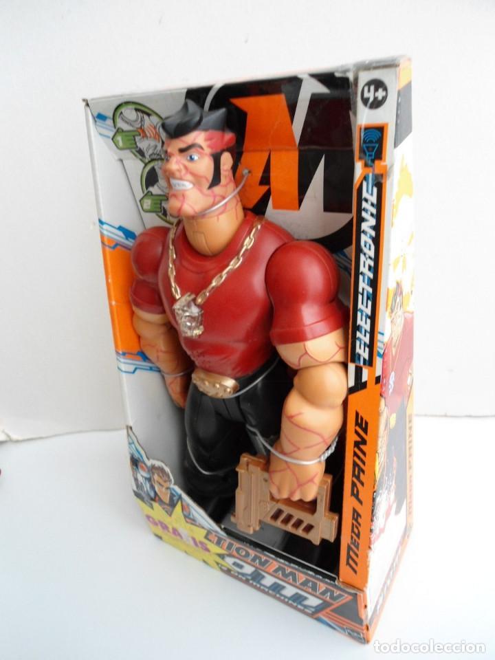 Action man: ACTION MAN ATOM - MEGA PAINE - HASBRO 2005 - CON LUCES Y SONIDO FUNCIONANDO - NUEVO EN CAJA - Foto 2 - 111926583