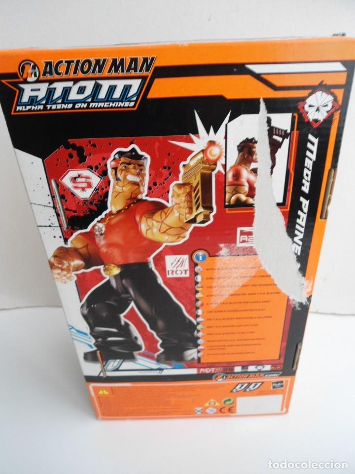 Action man: ACTION MAN ATOM - MEGA PAINE - HASBRO 2005 - CON LUCES Y SONIDO FUNCIONANDO - NUEVO EN CAJA - Foto 6 - 111926583