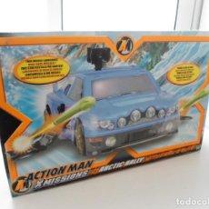Action man: ACTION MAN - COCHE X MISSIONS ARTIC RALLY - HASBRO 2004 - ESPECTACULAR VEHICULO - NUEVO EN CAJA. Lote 111926947