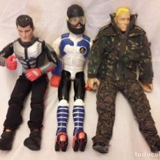 Action man: 3 MUÑECOS ACTION MAN. Lote 111965127