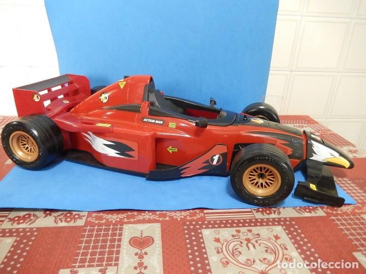 Action man: Action Man. Mission Grand Prix. Formula 1. Hasbro. Fabricado en España. 2000. - Foto 2 - 112400031