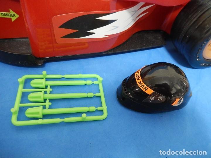 Action man: Action Man. Mission Grand Prix. Formula 1. Hasbro. Fabricado en España. 2000. - Foto 3 - 112400031