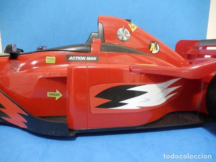 Action man: Action Man. Mission Grand Prix. Formula 1. Hasbro. Fabricado en España. 2000. - Foto 7 - 112400031