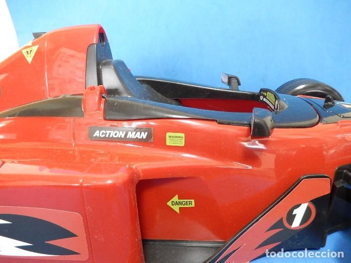 Action man: Action Man. Mission Grand Prix. Formula 1. Hasbro. Fabricado en España. 2000. - Foto 13 - 112400031