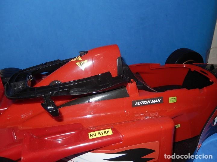 Action man: Action Man. Mission Grand Prix. Formula 1. Hasbro. Fabricado en España. 2000. - Foto 29 - 112400031