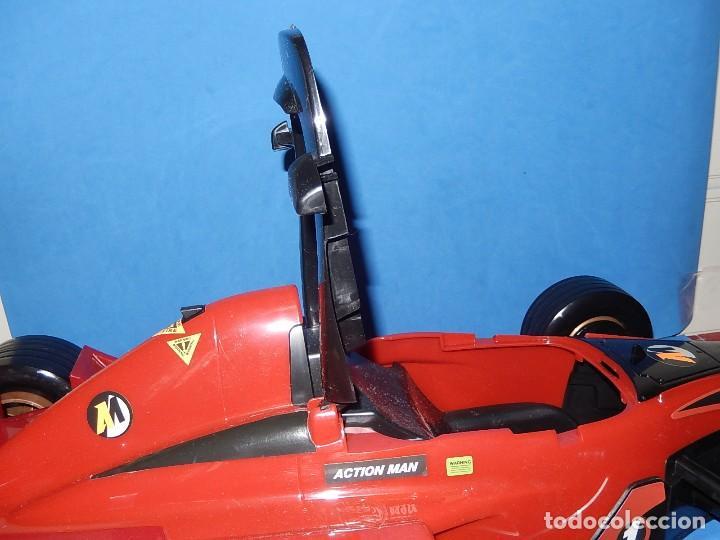 Action man: Action Man. Mission Grand Prix. Formula 1. Hasbro. Fabricado en España. 2000. - Foto 30 - 112400031