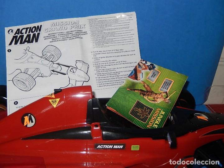 Action man: Action Man. Mission Grand Prix. Formula 1. Hasbro. Fabricado en España. 2000. - Foto 31 - 112400031